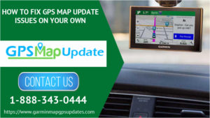 GPS Map Update Issues